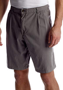 Big & Tall Pleated Shorts