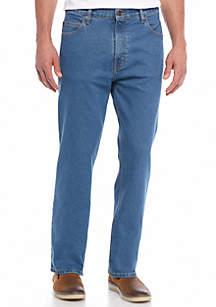 Big & Tall 5 Pocket Straight Stretch Jeans