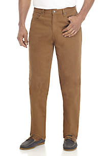 5-Pocket Classic Brown Pants