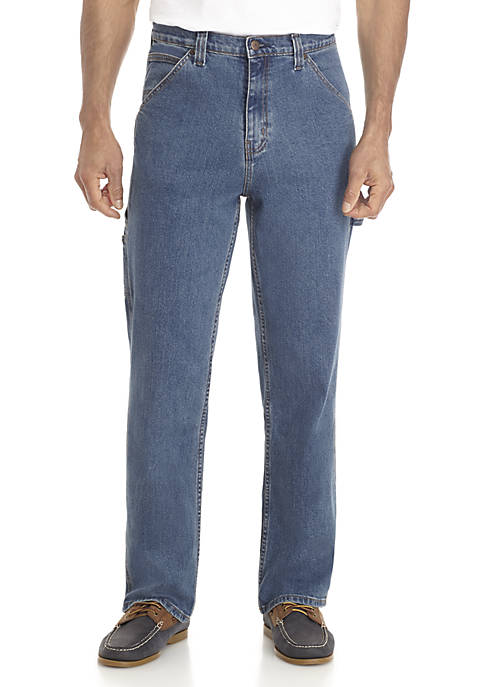 Saddlebred® Big & Tall Carpenter Stretch Jeans