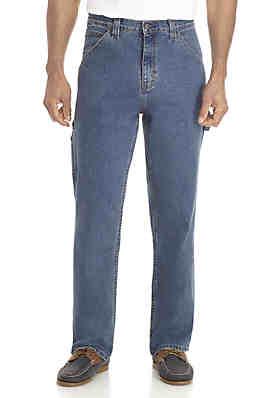 590ca752277 Saddlebred® Big & Tall Carpenter Stretch Jeans ...