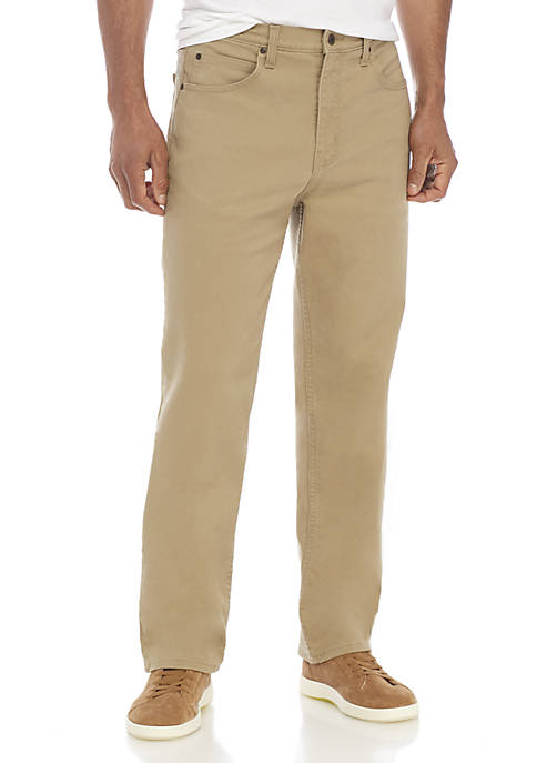 Stretch Relaxed Fit 5-Pocket Pants