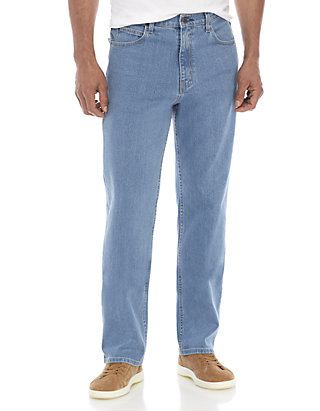 Stretch Relaxed Fit 5 Pocket Jeans
