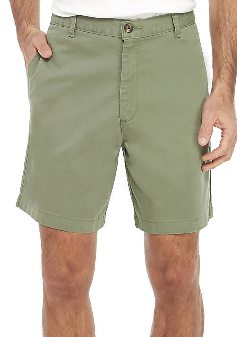 7 in Comfort Flex Stretch Twill Shorts