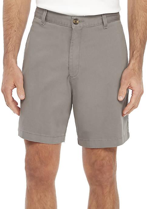 7 in Comfort Flex Stretch Twill Shorts