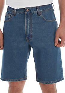 Saddlebred® Relaxed Fit Comfort Flex 11 in 5 Pocket Denim Shorts