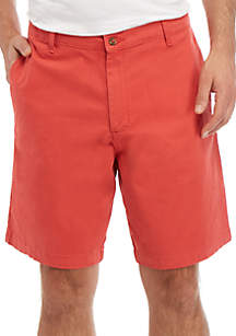 Saddlebred® Big & Tall 10 in Comfort Flex Stretch Twill Shorts