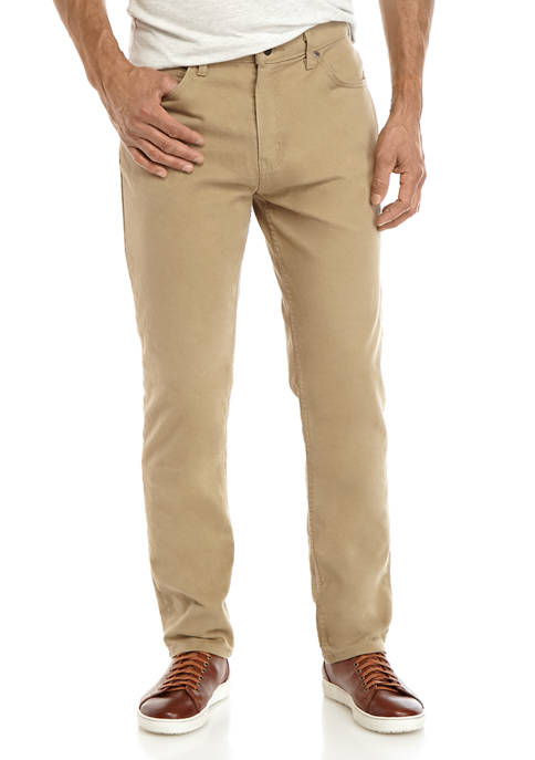 Saddlebred® Tapered Fit Comfort Flex 5 Pocket Denim