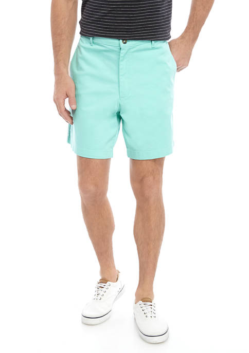 Mens 7 Inch Twill Shorts