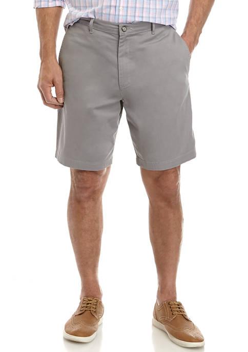 Comfort Flex 9 Inch Twill Shorts