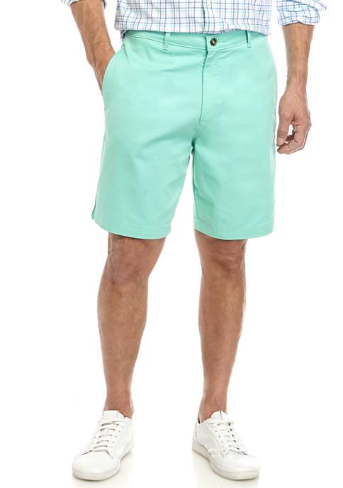 Mens Twill Aqua Mint Shorts