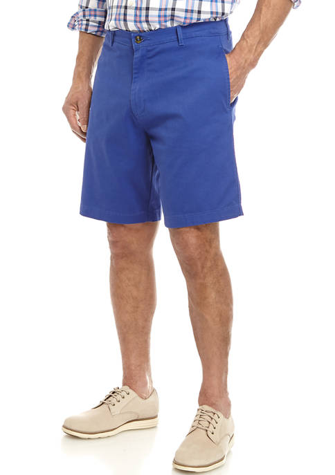 Saddlebred® Mens Twill Acai Berry Shorts
