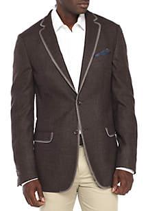 Brown Melange Sportcoat