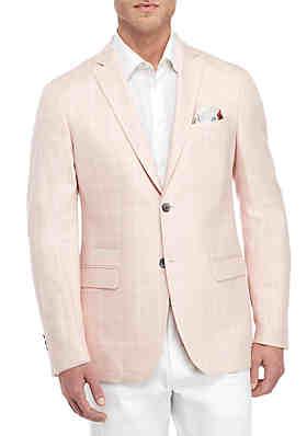 760e48f5b1c5 Tallia Orange Pink and White Window Pane Dinner Jacket ...