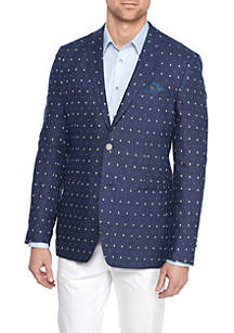 Blue Multi Dot Sportcoat