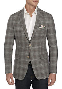 Large Plaid Deco Sport Coat