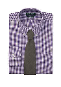 Lauren Ralph Lauren Classic Fit No-Iron Dress Shirt