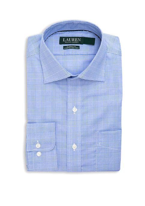 Mens Classic Fit Stretch Warren Pocket Shirt