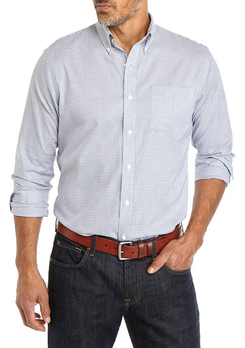 Classic Fit Button Down Shirt