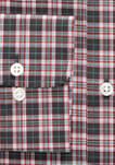 Classic Fit Easy Care Plaid Dress Shirt