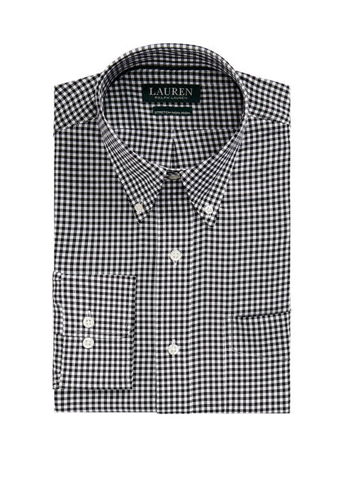 Classic Fit Easy Care Gingham Dress Shirt