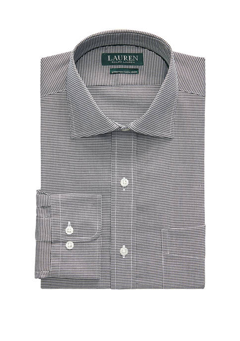Classic Fit Easy Care Houndstooth Dress Shirt