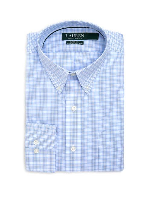 Mens Classic Fit Stretch Pocket Shirt
