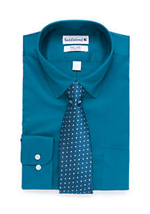 2-Piece Boxed Stretch Dress Shirt Set