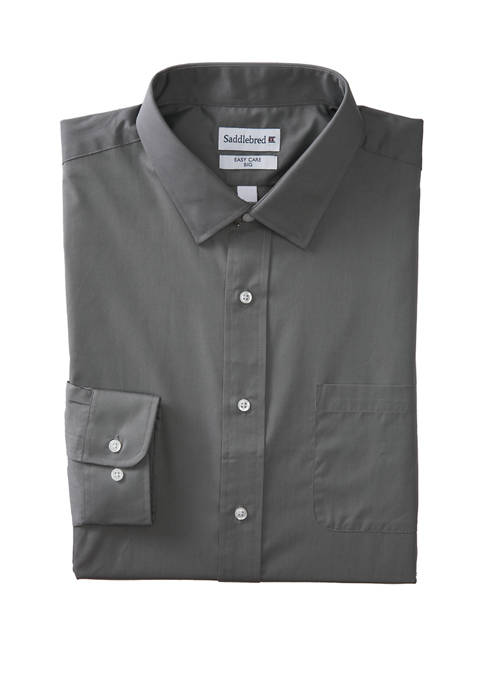 Big & Tall  Easy Care Stretch Collar Dress Shirt