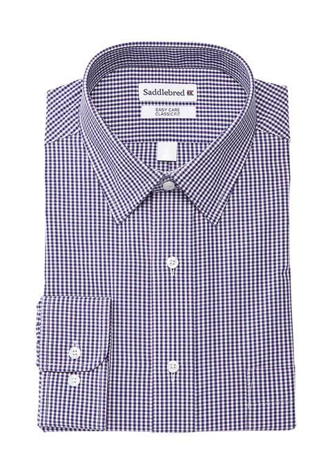 Mens Regular Stretch Button Down Shirt