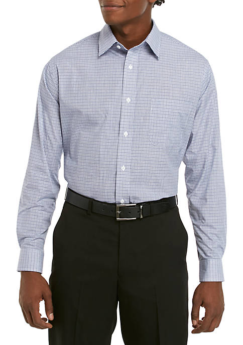 Saddlebred® Long Sleeve Easy Care Stretch Collar Dress