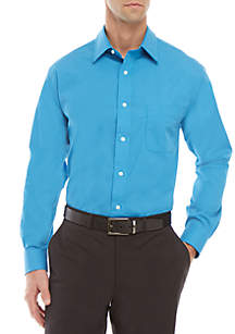 Saddlebred® Men's Long Sleeve Easy Care Stretch Collar Dress Shirt