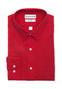 Long Sleeve Easy Care Stretch Collar Dress Shirt