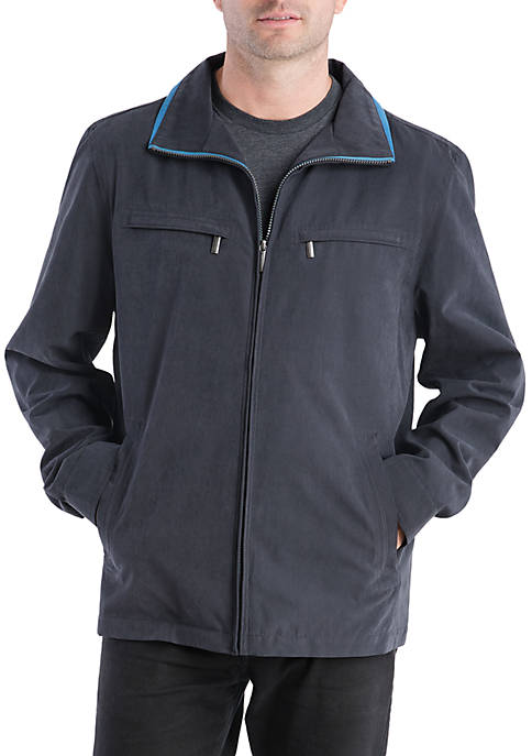 London Fog® Big & Tall Litchfield Microfiber Jacket