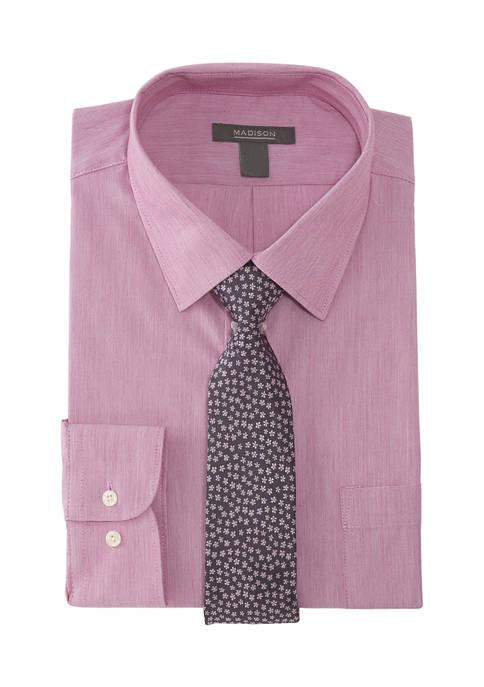 Slim Stretch Button Down Shirt