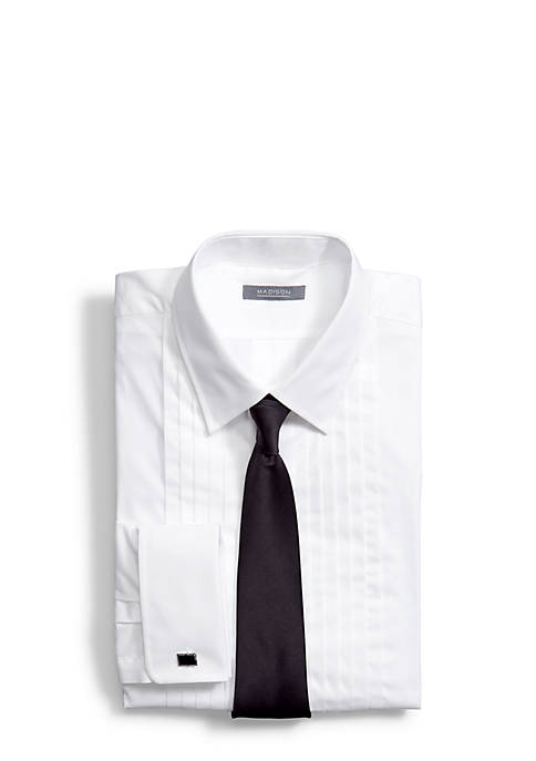 Madison Classic Fit Formal Tuxedo Shirt and Tie