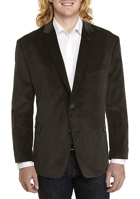Saddlebred® Big & Tall Corduroy Sport Coat