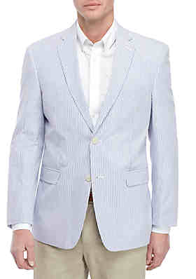 1013bd0d512 Saddlebred® Big   Tall Blue White Seersucker Sport Coat ...