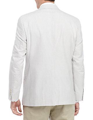 6c0c54e6910a Saddlebred® Tan and White Seersucker Sports Coat | belk