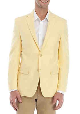 173470f4ef3 Saddlebred® Yellow Chambray Sport Coat ...