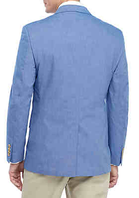 261126928405 Saddlebred® Blue Chambray Sports Coat Saddlebred® Blue Chambray Sports Coat