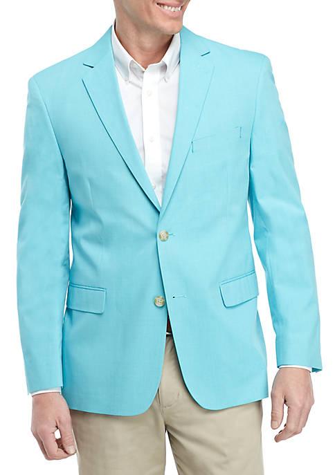 Turquoise Chambray Sports Coat