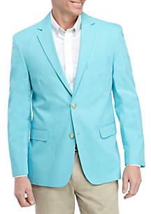 Saddlebred® Turquoise Chambray Sports Coat