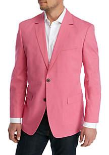 e17eafb6f72 ... Saddlebred® Big & Tall Solid Chambray Sport Coat