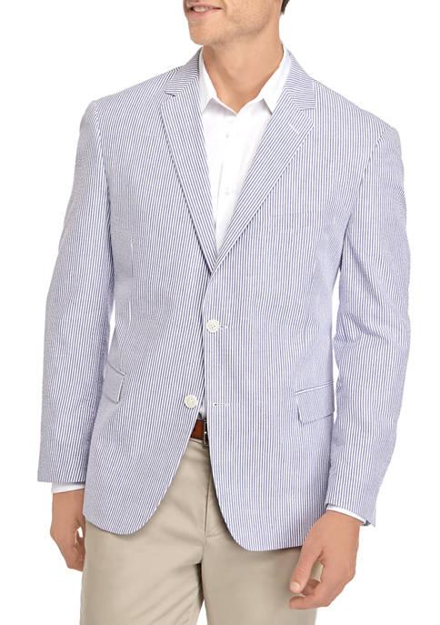 Saddlebred® Big & Tall Seersucker Sport Coat