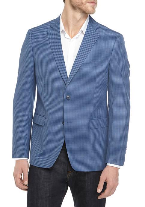 Saddlebred Men's Blue Check Sport Coat