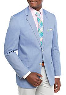 Big & Tall Blue Chambray Sport Coat