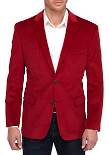 Red Corduroy Sport Coat