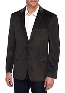 Big & Tall Gray Corduroy Sport Coat