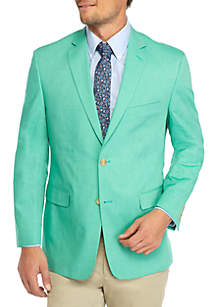 Big & Tall Cotton Chambray Sport Coat